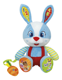 baby Clementoni peluche interactive Lillo the Rabbit bilingue FR/NL-Avant