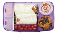 Sistema lunchbox Bento Box paars-Afbeelding 1