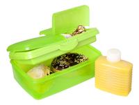 Sistema lunchbox Slimline Quaddie groen-Afbeelding 1