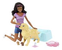 Barbie set de jeu Chien avec ses chiots brun-Détail de l'article