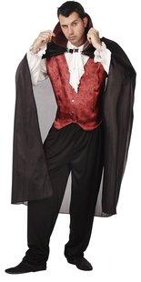Verkleedpak vampier één maat-Vooraanzicht