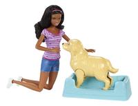 Barbie speelset Hond met puppy's bruin-Artikeldetail