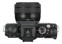 Fujifilm fototoestel X-T100 + XC15-45mm zwart-Bovenaanzicht