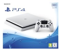 Sony PS4 Slim console 500 Go blanc