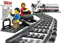 LEGO City 60051 Le train de passagers à grande vitesse-Image 2