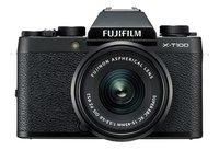 Fujifilm fototoestel X-T100 + XC15-45mm zwart-Vooraanzicht