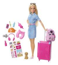 Barbie speelset Op reis-commercieel beeld