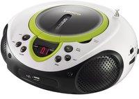 Lenco radio/lecteur CD portable SCD-38 vert-Détail de l'article