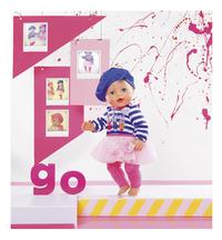 BABY born kledijset Modecollectie Blauwe muts-Afbeelding 1
