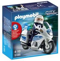 Playmobil City Action 5185 Motoragent met zwaailichten