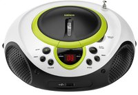 Lenco radio/lecteur CD portable SCD-38 vert-Avant