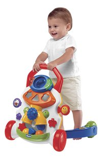 Chicco loophulpje Baby Steps Activity Walker wit-Afbeelding 1