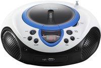 Lenco draagbare radio/cd/mp3-speler SCD-38 blauw-Vooraanzicht