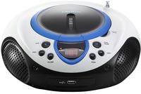 Lenco draagbare radio/cd/mp3-speler SCD-38 blauw