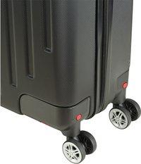 Princess Traveller harde reistrolley Detroit zwart 55/59 cm-Onderkant