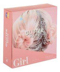 Who's That Girl glittergel Glitter Roots Rainbow Party-Linkerzijde