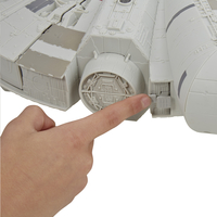 Speelset Star Wars Battle Action Millennium Falcon-Achteraanzicht