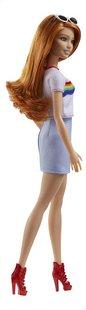 Barbie poupée mannequin  Fashionistas Original 122 - Rainbow shirt-Côté gauche