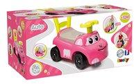 Smoby loopwagen Auto Ride-On roze-Linkerzijde