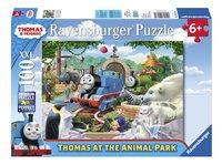 Ravensburger XXL puzzel Thomas & Friends Dierenpark-Vooraanzicht