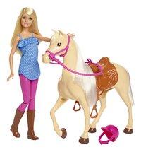 Barbie speelset Barbie met paard-Vooraanzicht