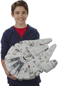 Set de jeu Star Wars Battle Action Millennium Falcon-Image 3