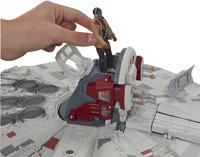 Set de jeu Star Wars Battle Action Millennium Falcon-Vue du haut