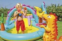 Intex aire de jeu gonflable Dinoland-Image 2