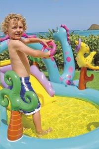 Intex aire de jeu gonflable Dinoland-Image 3