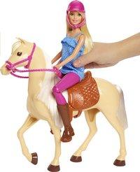 Barbie speelset Barbie met paard-Afbeelding 1