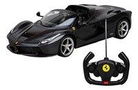 Rastar auto RC Ferrari LaFerrari Aperta zwart-Vooraanzicht