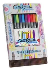 Online dubbele viltstiften Calli Brush - 11 stuks-Linkerzijde