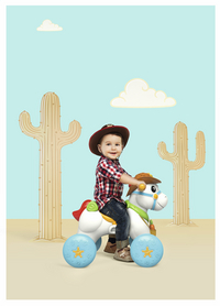 Chicco trotteur Baby Rodeo 3 en 1-Image 1