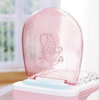 BABY born wc potje met geluidjes-Bovenaanzicht