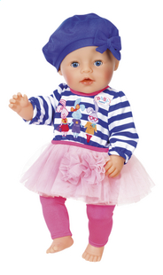 BABY born kledijset Modecollectie Blauwe muts-Artikeldetail