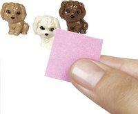 Barbie speelset Hond met puppy's bruin-Afbeelding 1