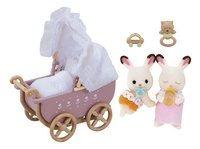 Sylvanian Families 5018 - Jumeaux Lapin Chocolat-commercieel beeld