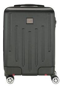 Princess Traveller harde reistrolley Detroit zwart 55/59 cm-Vooraanzicht