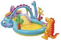Intex aire de jeu gonflable Dinoland-Avant