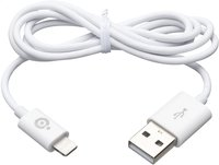 bigben câble Apple Lightning vers USB blanc-Avant
