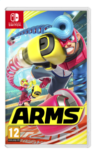 Nintendo Switch Arms ENG/FR