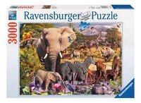 Ravensburger puzzle Animaux du continent africain-Avant