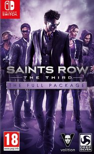 Nintendo Switch Saints Row The Third - The Full Package ENG/FR-Vooraanzicht