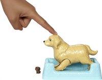 Barbie speelset Hond met puppy's bruin-Afbeelding 3