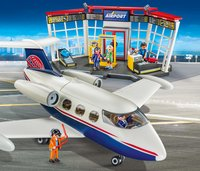 PLAYMOBIL City Action 70114 Luchthaven en vliegtuig-Afbeelding 1