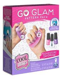 Cool Maker Go Glam Nail Fashion Pack Lovestory Daydream-Côté gauche