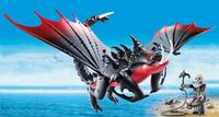 PLAYMOBIL Dragons 70039 Aggripemort et Grimmel-Image 1