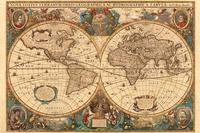 Ravensburger puzzel Antieke wereldkaart