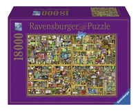 Ravensburger puzzel Magical Bookcase