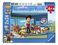 Ravensburger puzzle 2 en 1 Pat' Patrouille Les détectives-Avant